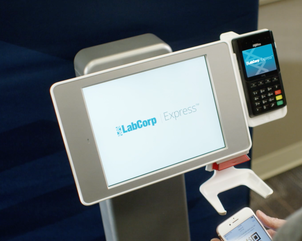 LabCorp: Modernizing Patient Check-in with the Interactive