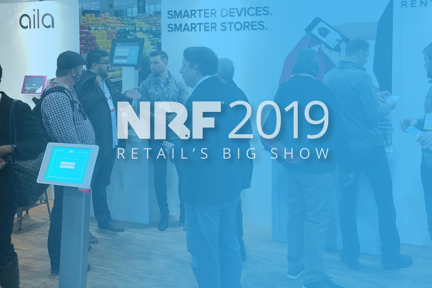 Aila at NRF 2019: Complete In-store Solutions