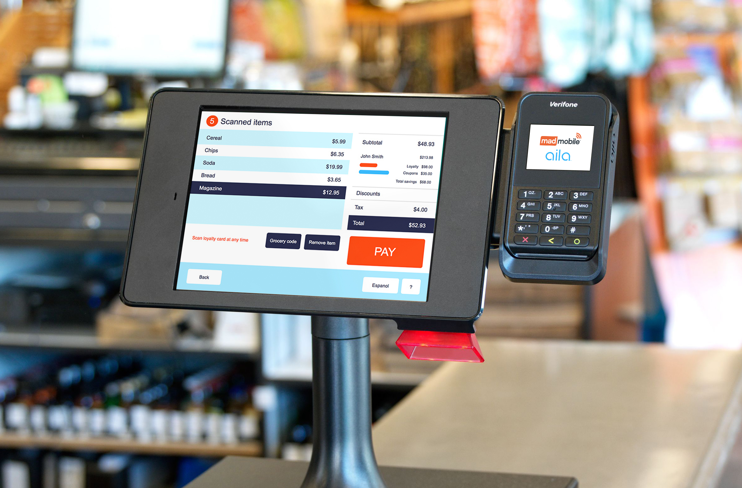 Aila + Mad Mobile: The Future of Self Checkout and mPOS