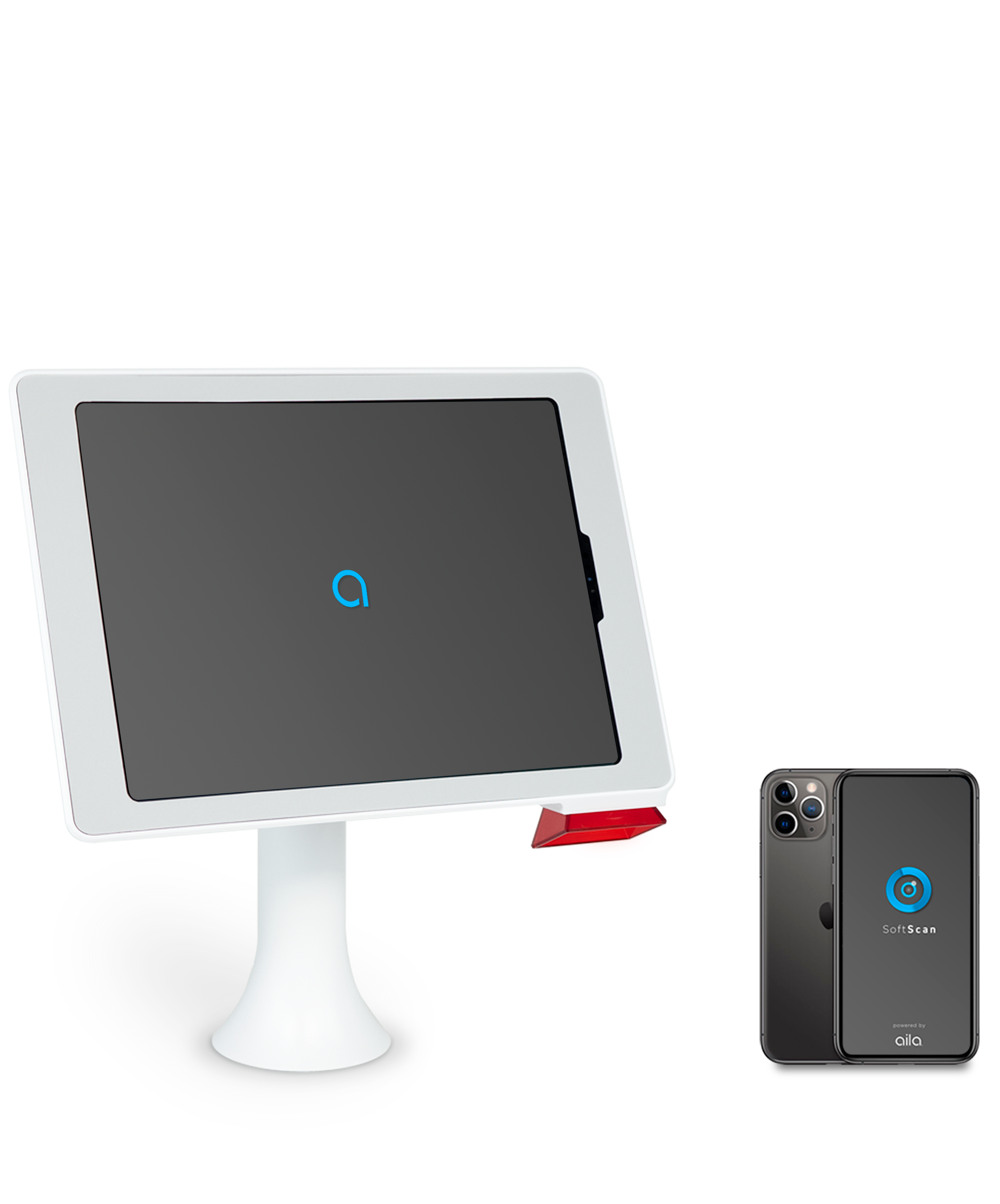 aila's interactive kiosk and softscan