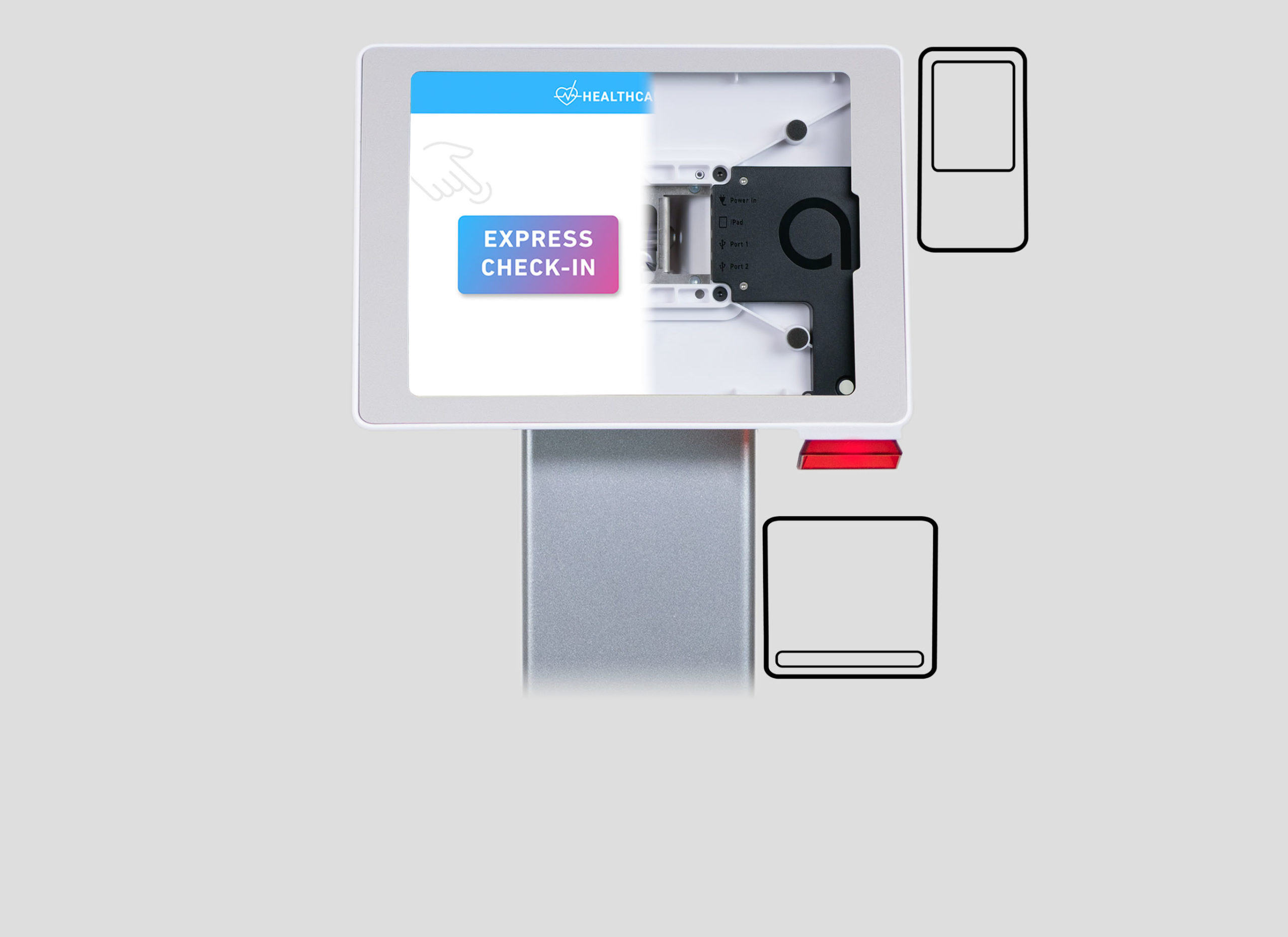 sign-in kiosk peripherals and accessories
